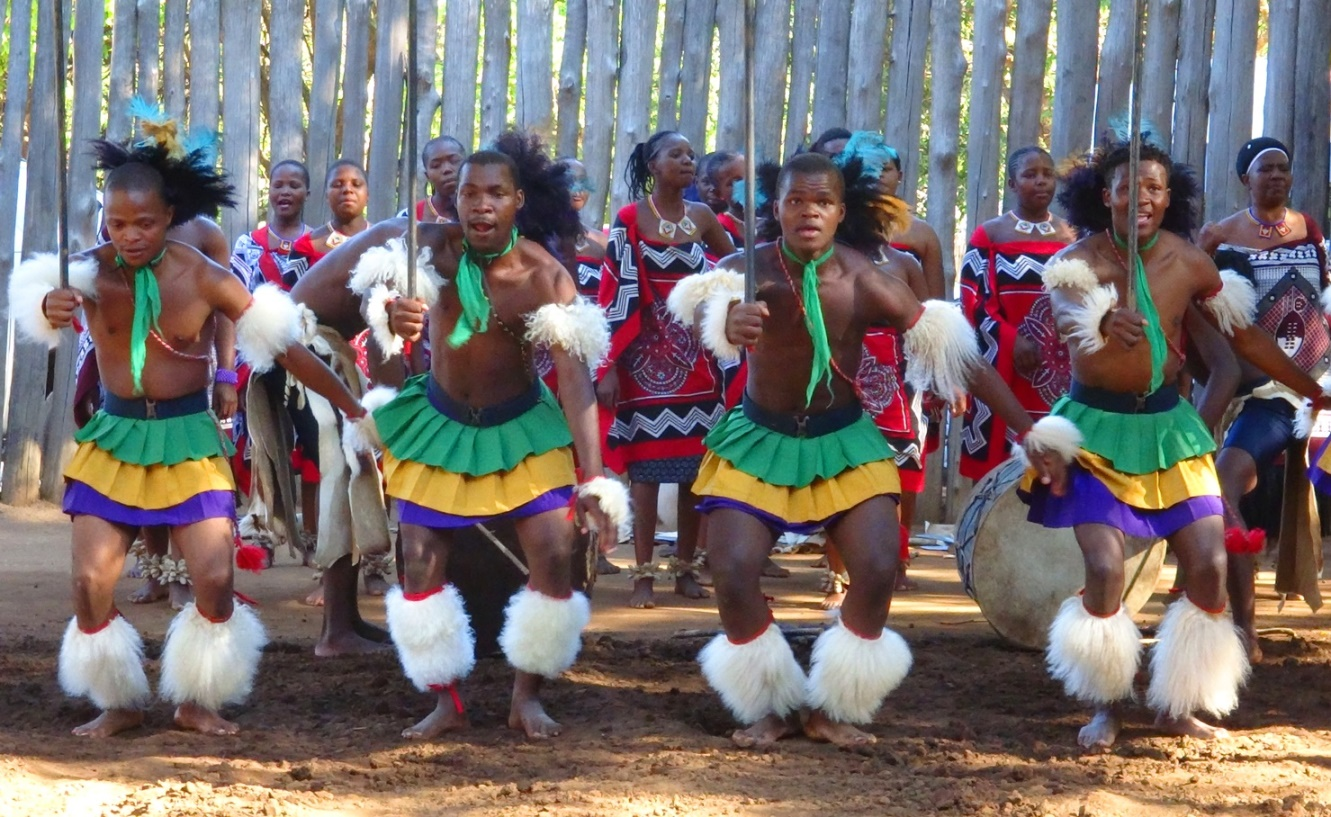 Mantenga village dancing