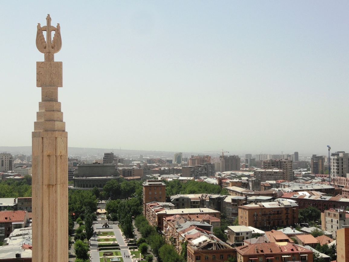 yerevan city skyline