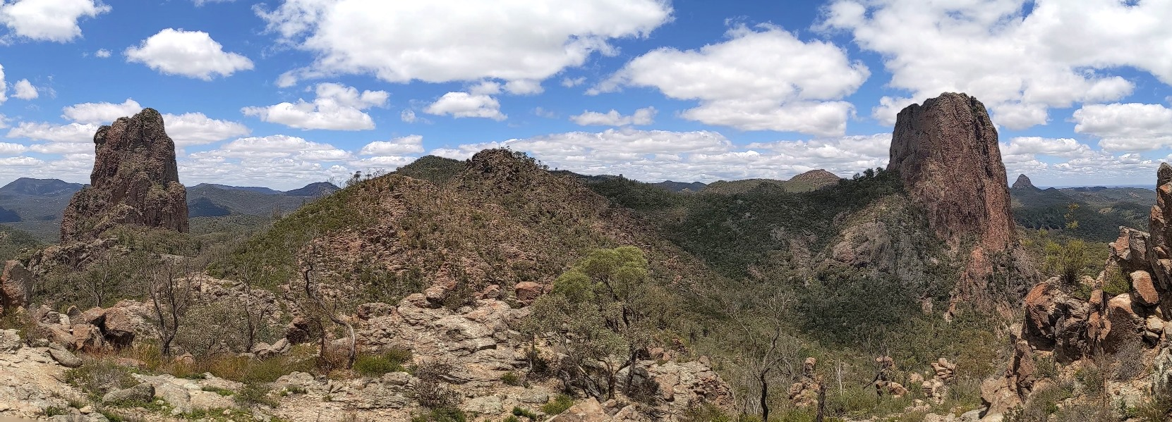 warrumbungles mountain range