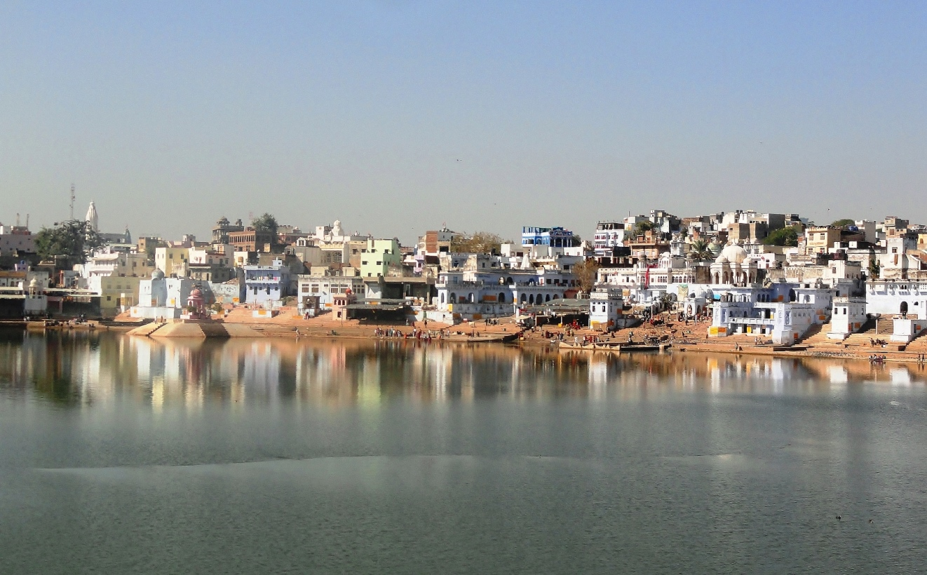 Pushkar india holy ghat
