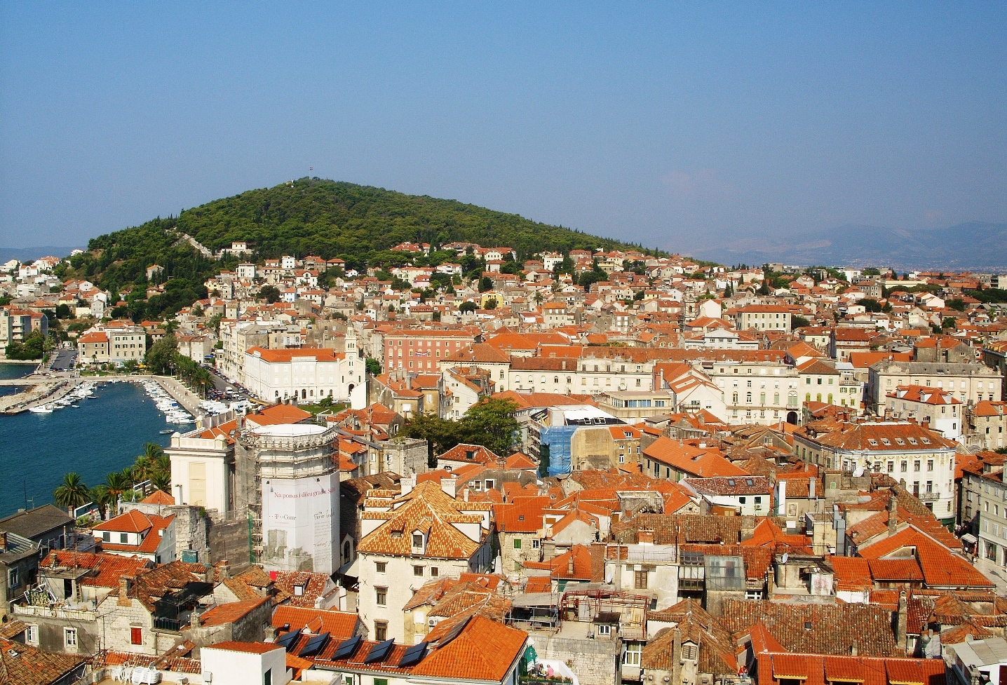 split skyline croatia