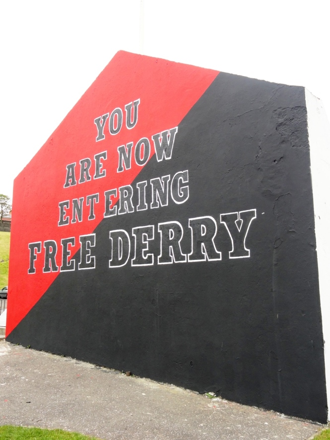 you are entering free derry